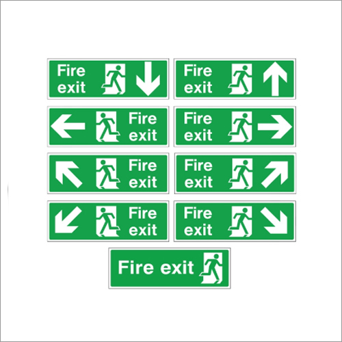Fire Exit Signages