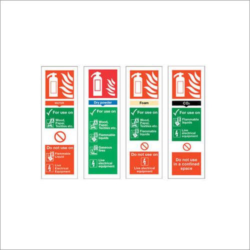 Fire Extinguisher Signages