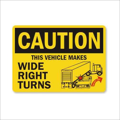 Electronic Caution Signages