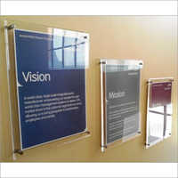 Acrylic Sandwich Boards