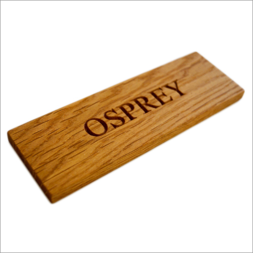 Wooden Door Name Plates