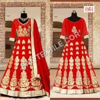 Ladies Embroidered Anarkali Suit