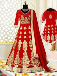 Ladies Embroidered Anarkali Suit
