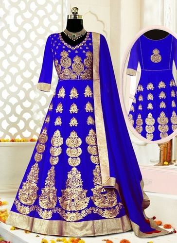 Ladies Party Wear Embroidered Anarkali