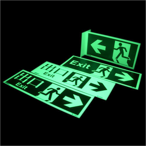 Photoluminescent Signs
