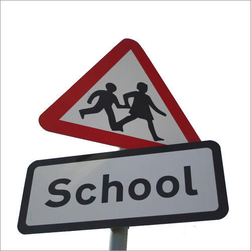 School Reflective  Signages