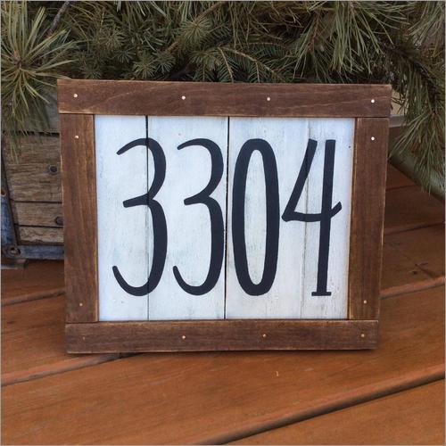 House Address Signages