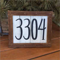 House Address Signages