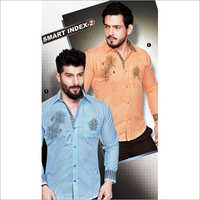 Embroidery Men Shirts Fabric
