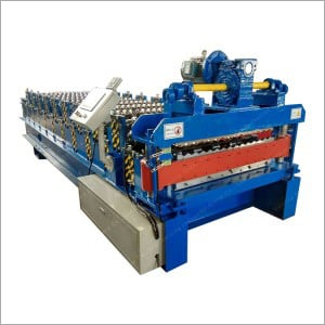 Aluminum Roofing Sheet Roll Forming Machine