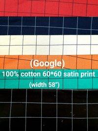 Cotton shirting fabric
