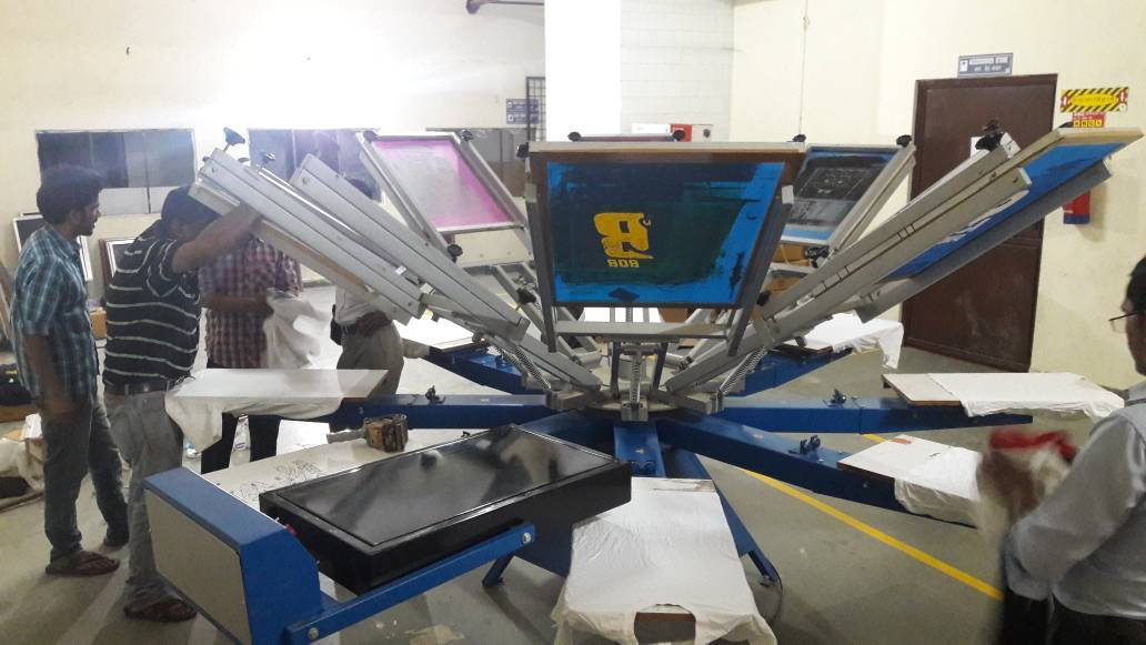 Manual Shirt Screen Printing Machine
