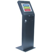 Commercial Outdoor Advertising TV Interactive Kiosk