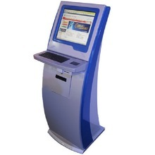 Touch Screen Telecom Fee Self pay kiosk payment machine
