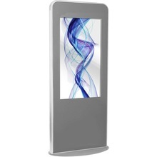55 inch free standing 10 points touch screen digital signage kiosk