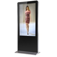Virtual Customized Dressing Room Touch Screen Kiosk