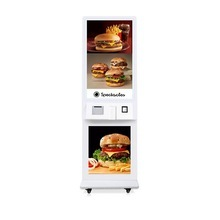 21.5 Inch Wall Mounted Restaurant Self Ordering Machine Kiosk