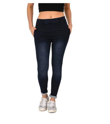 Denim-Double Black Blue -Stretchable