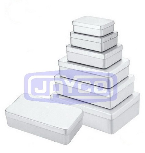 Loose Cover Aluminium Packaging Box