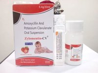 Amoxycillin 400Mg+Clavulanic Acid 57Mg/5Ml   WITH WATER & Flavour