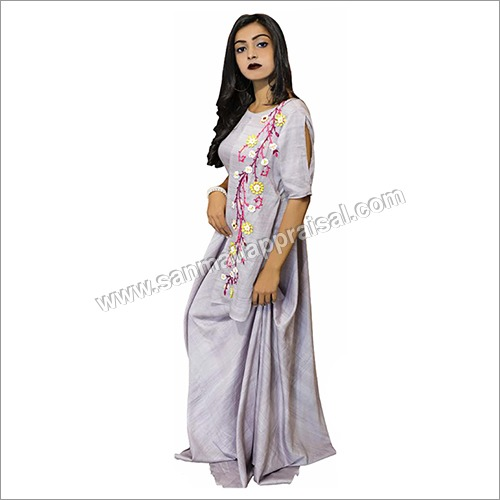 Ladies Side Cowl Kurti