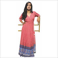 Printed Flap Anarkali