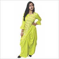 Ladies Dhoti Suit