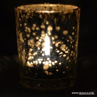 Beautiful Glass Candle Holder