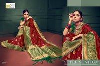 New Chanderi Cotton Silk Sarees