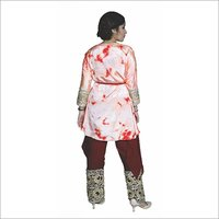 Ladies Pants Tie Die Shrug