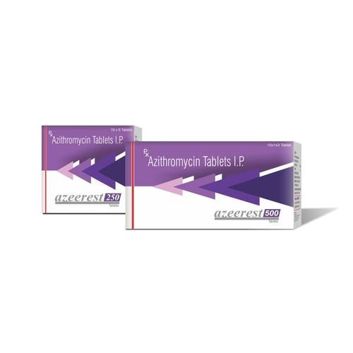 TRUWORTH AZEEREST 250  / 500 (AZITHROMYCIN 250 & 500 MG TABLET)