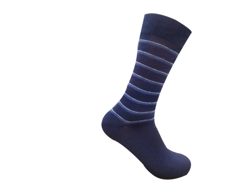 Men's Cotton Calf Length Formal Socks