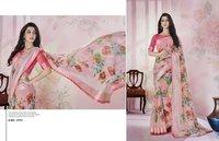 Satin Printed Sarees