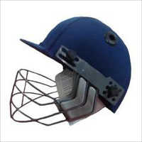 Blue Cricket Helmet