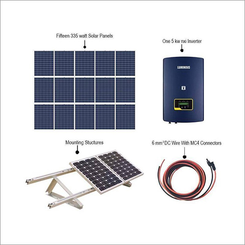 5 KW Luminous On Grid Solar Inverter