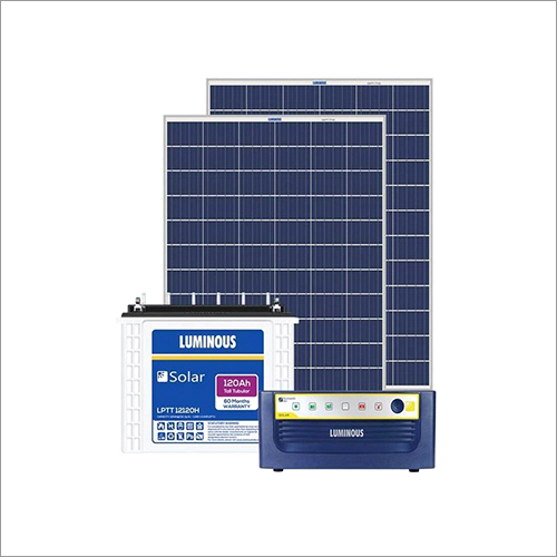 Luminous 850 VA Off Grid Solar Battery