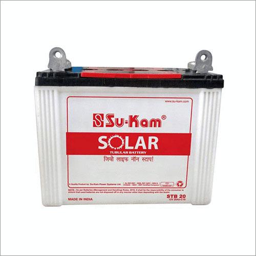 20 Ah Sukam Solar Tubular Battery