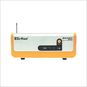 Eco 1100 Sukam Brainy Solar Inverter With Pwm Charger