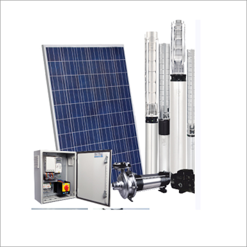 1 HP Submersible Solar Water Pump System