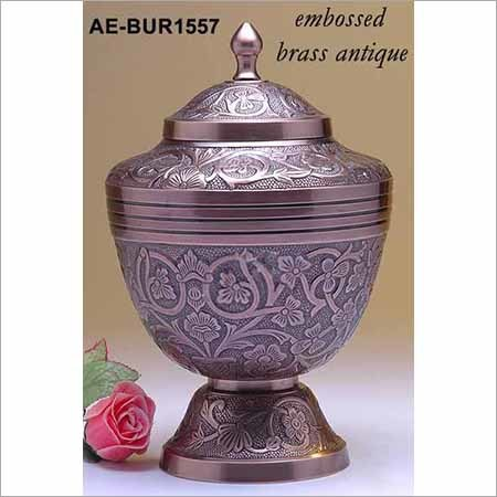 Brass Funeral Urn