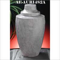 Aluminium Onyx Marble Finish Cremation Urn