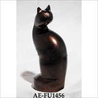 Brass Feline Urn