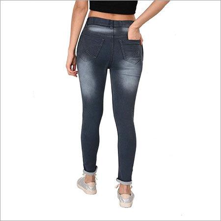 Ladies Fancy Denim Jeans