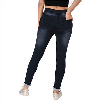 Ladies Washed Jeans