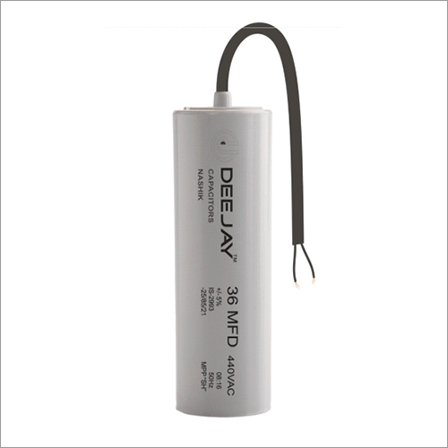 Running Capacitor PP Can Wire Dry Type