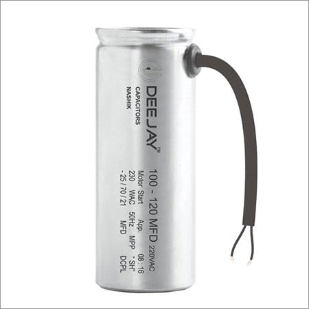 Aluminium Dry Type Motor Start Capacitor