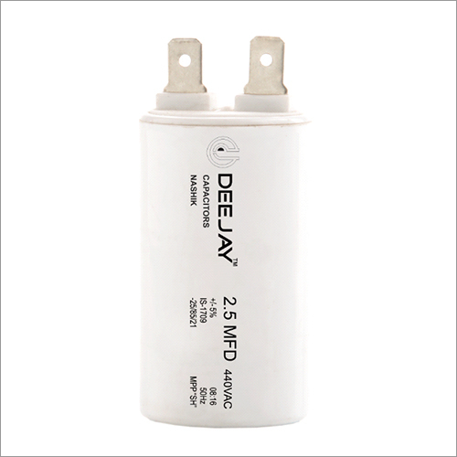Fan Capacitor PP Can Lug Dry Type