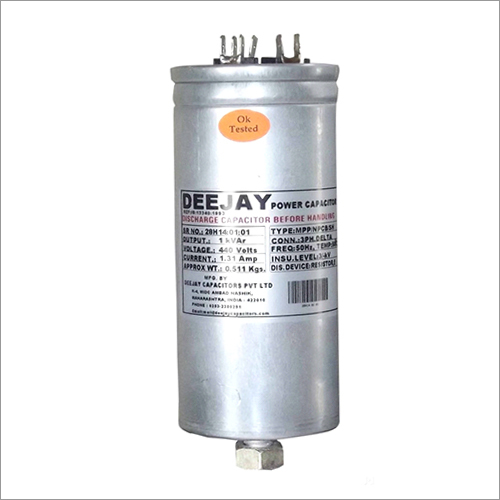 Cylindrical Power Capacitor