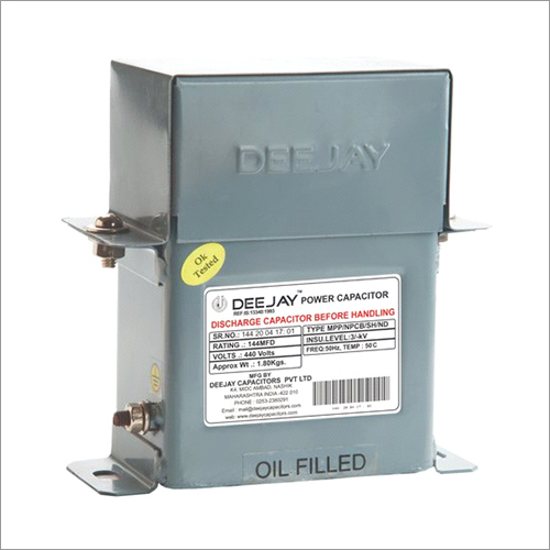Oil Filled Heavy Duty MFD Capacitor