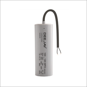 Motor Start Capacitor PP Can Dry Type